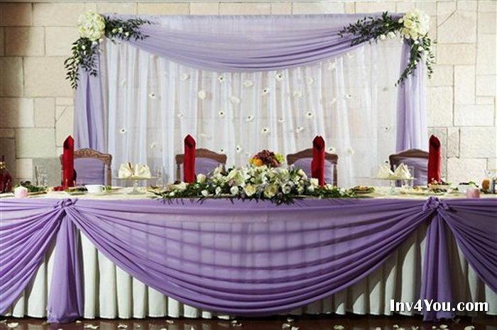 оформление для свадебного зала
