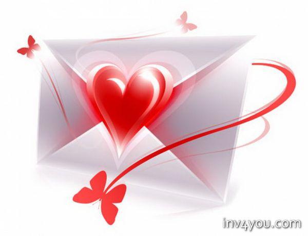 как писать письма любимой: