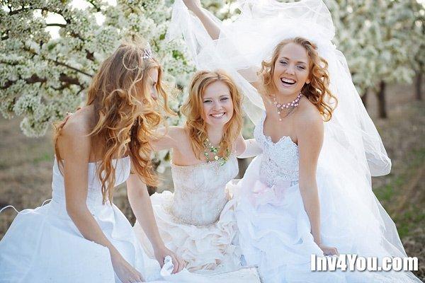 Невеста с подружками пустила по кругу своего жениха