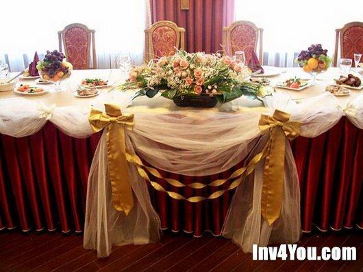 Декор невесты на шампанское