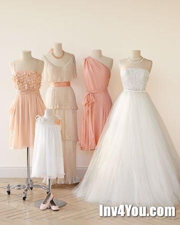 Оформление свадьбы персикового цвета