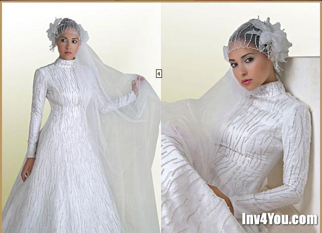 Закрытые свадебные платья с рукавами