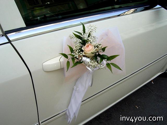 Украсить машину на свадьбу: фото?