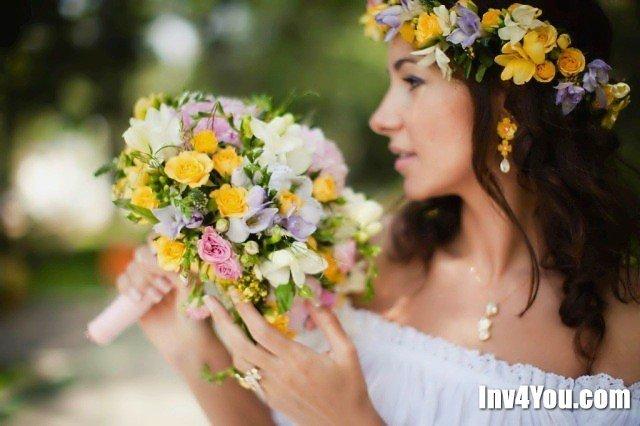 Свадебные венки на голову своими руками