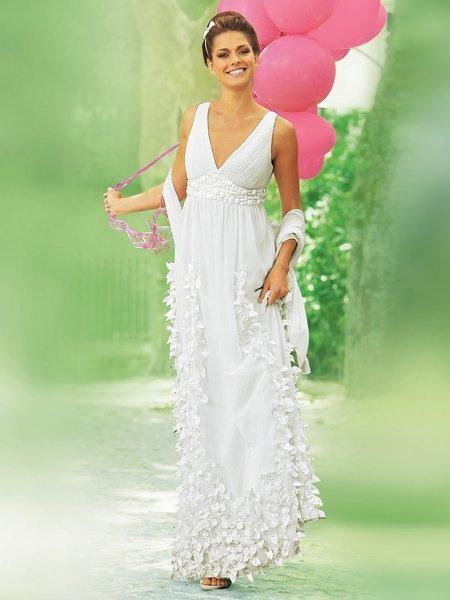 Греческие платья и прически на <u>фатой</u> свадьбу