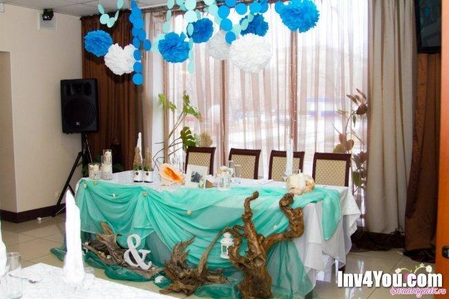 Бирюзовая свадьба: фото!