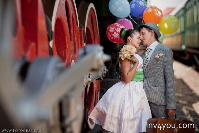 Как сделать свадьбу в стиле стиляги