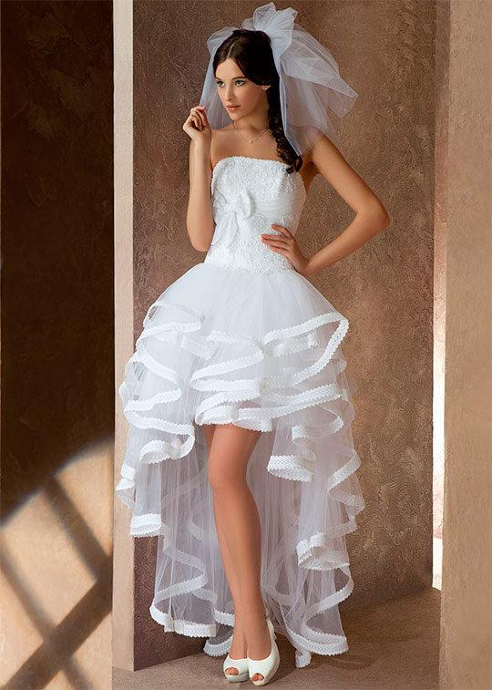 Свадебные оригинальные наряды